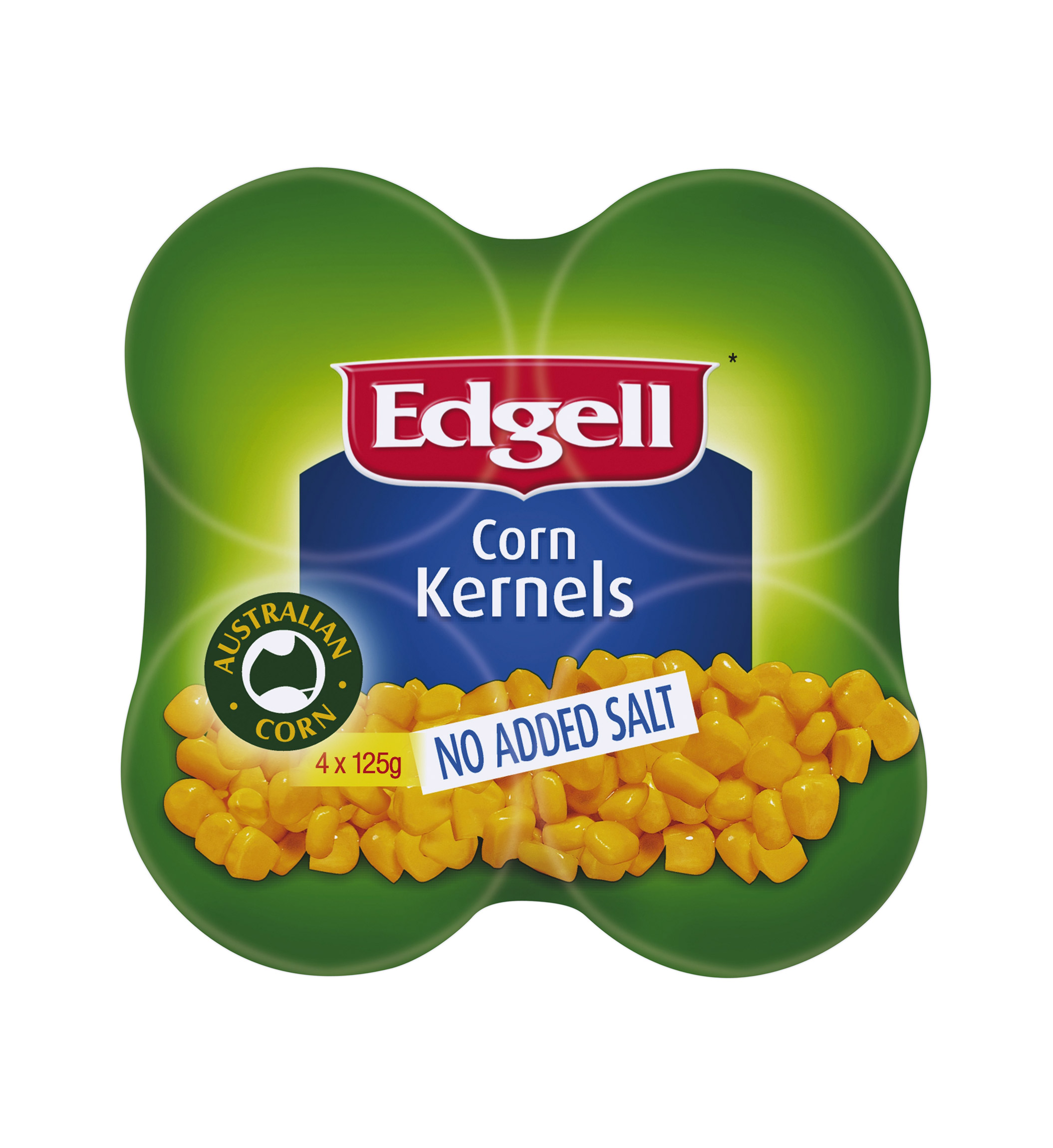 Corn Kernels No Added Salt 4 x 125g