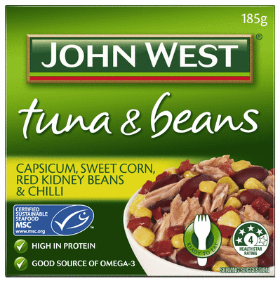 Capsicum Sweet Corn Red Kidney Beans and Chilli 185g.JPEG
