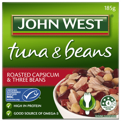 Roasted Capsicum and Three Beans 185g.JPEG