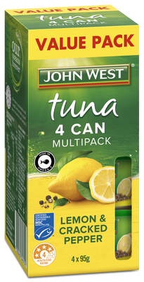 Tuna Tempter Lemon and Cracked Pepper Multipack 4 x 95g.jpg